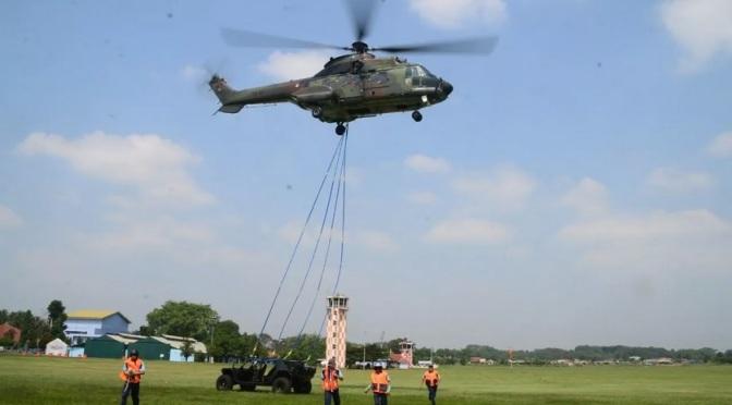 Skadron Udara 6 TNI AU Latihan Combat CSAR