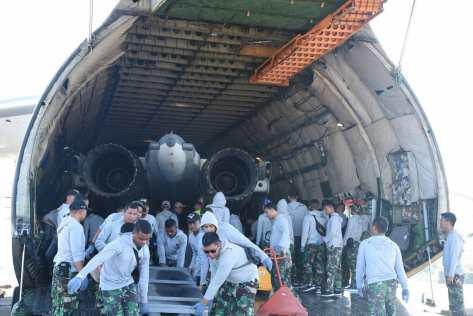 Su-30 TS-3001 tiba dari Belarusia di lanud Sultan Hasanuddin 28072019 (IMF) 2