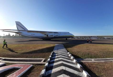 Su-30 TS-3002 tiba dari Belarusia di lanud Sultan Hasanuddin 28072019 (IMF) 1