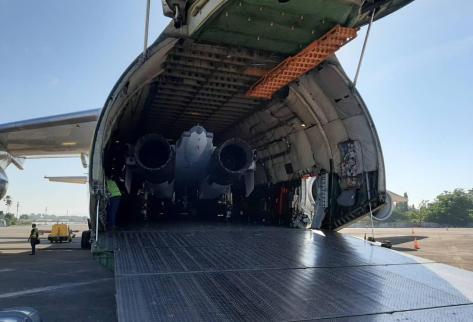 Su-30 TS-3002 tiba dari Belarusia di lanud Sultan Hasanuddin 28072019 (IMF) 2