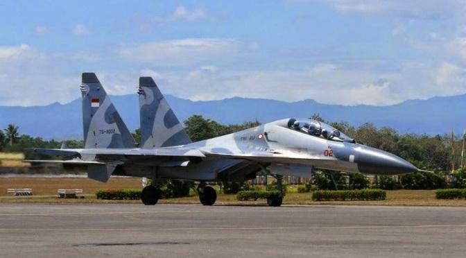 Dua Jet Tempur Su-30MK yang Telah Diperbaiki Siap Dikirim ke Indonesia