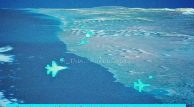 Tujuh Skadron Udara TNI AU Terlibat Pertempuran di Langit Jatim