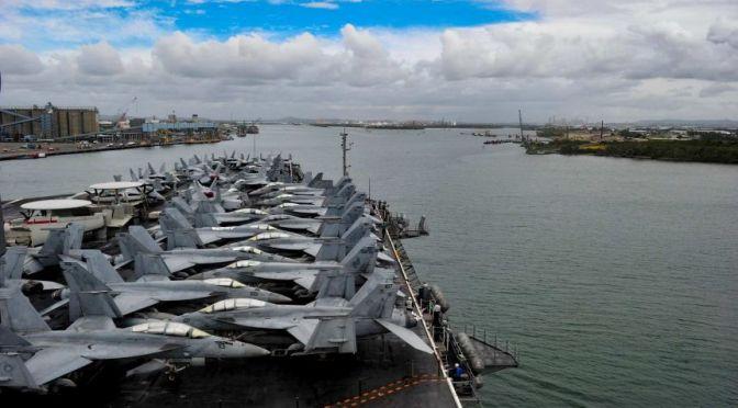 USS Ronald Reagan Tiba di Brisbane
