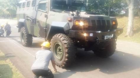 TNI AD Sertifikasi Kelaikan Kendaraan Taktis Komodo PT. Pindad 1