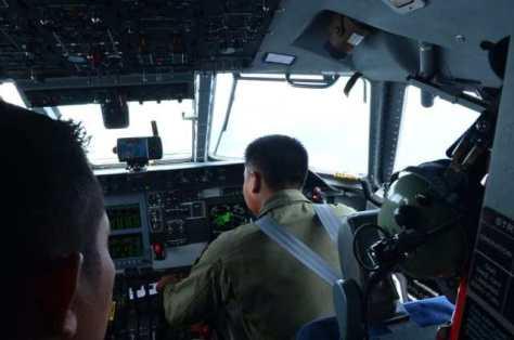 TNI AU juga menerbangkan pesawat Command and Control (C2) yaitu CN295 Special Mission 1