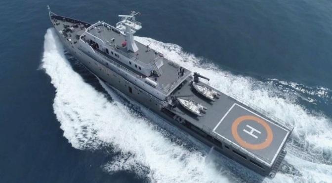 Indonesia Kerahkan KP Yudistira 8003 ke Laut Cina Selatan