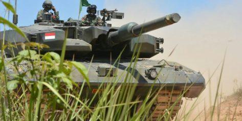 Delapan Unit Tank Leopard 2RI Turut Dikerahkan dalam Latancab Kartika Yudha 2019