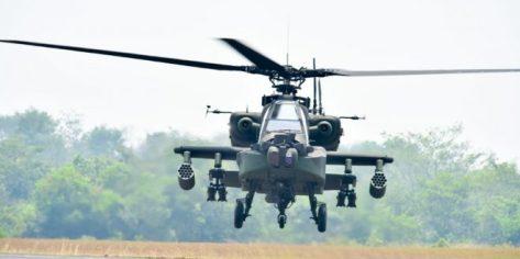 Dua Unit AH-64E Apache Dikerahkan dalam Latancab Kartika Yudha 2019