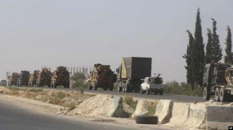 Jet Tempur Suriah Serang Satu Konvoi Militer Turki
