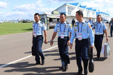 Kasau bahas kelanjutan pengadaan Su35 & masalah perawatan pesawat Sukhoi TNI AU di MAKS 2019 1