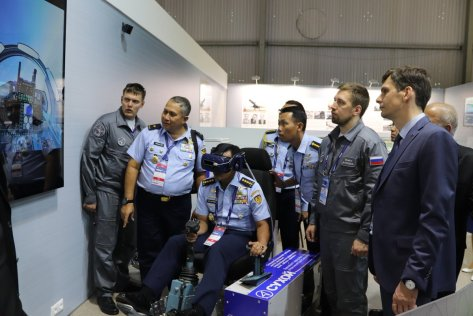 Kasau bahas kelanjutan pengadaan Su35 & masalah perawatan pesawat Sukhoi TNI AU di MAKS 2019 2