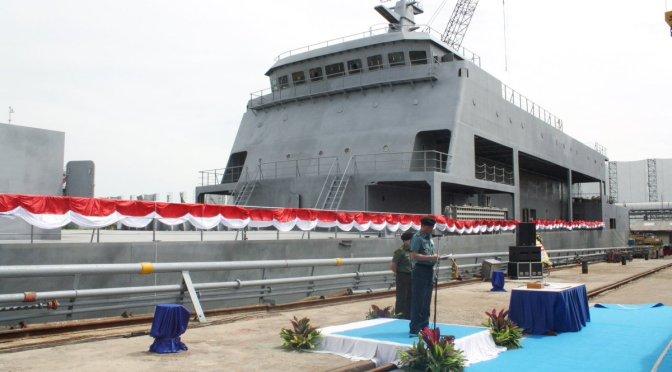 Paparan Rencana Pembangunan Dua Unit Kapal Landing Ship Tank (LST)