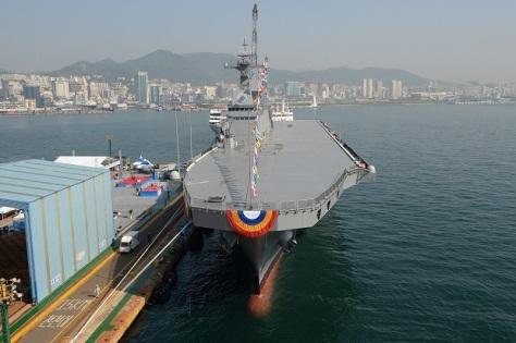 Landing Platform Helicopter (LPH) Angkatan Laut Korsel (Reuters)