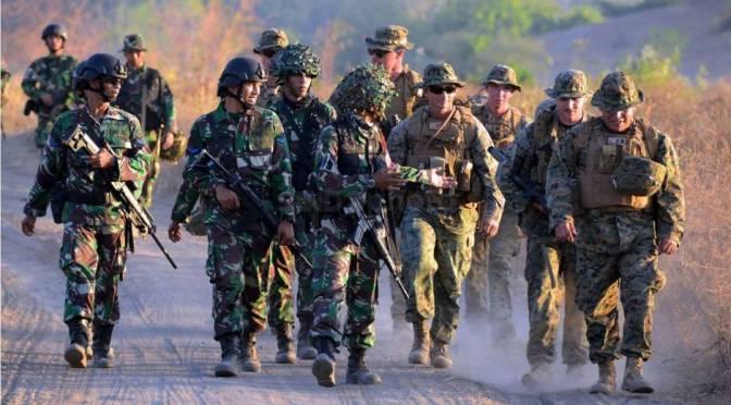 Marinir TNI AL dan USMC Gelar Latihan Bersama Bertajuk CARAT 2019