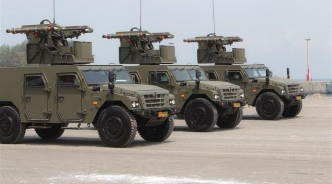 TNI Tengah Bangun Markas Arhanud dan Armed di NTT