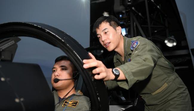 Pelatihan Pilot TA-50 Angkatan Udara Indonesia di Korea Selatan