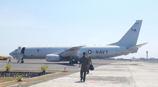 P-8A Poseidon Jelajah Laut Jawa