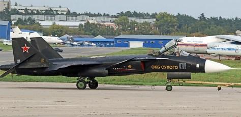 Su-47 di MAKS 2019 (theaviationist) 2