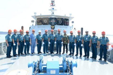 TNI AL Luncurkan Satu Unit Kapal Jenis PC-40 meter 1