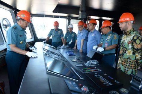TNI AL Luncurkan Satu Unit Kapal Jenis PC-40 meter 2