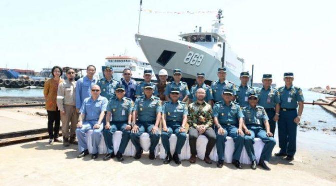TNI AL Luncurkan Satu Unit Kapal Jenis PC-40 meter