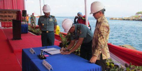 TNI AL melaksanakan Shipnaming (penamaan) tiga Kapal Angkut (AT) yakni AT-5, 6 dan 7, sekaligus Launching Kapal Angkut Tank AT-7 1