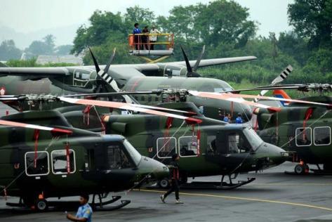 Bell 412 dan C295