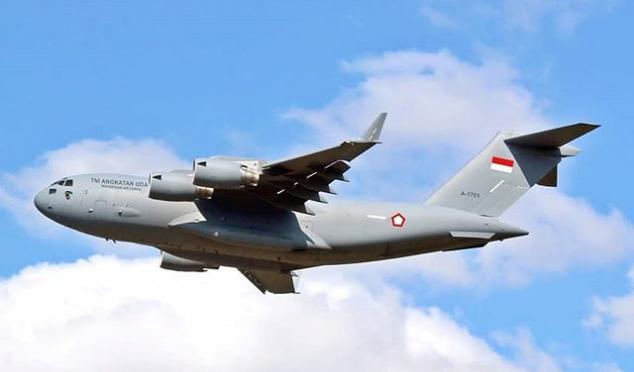 Skadron Udara 31 Inginkan C-17 Globe Master di Masa Depan