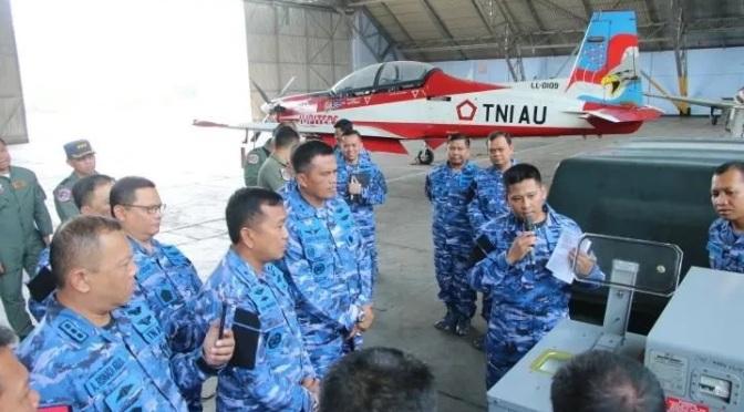 Diskusi Pemeliharaan Ejection Seat MK KR 16 LF Pesawat KT-1B Woong Bee