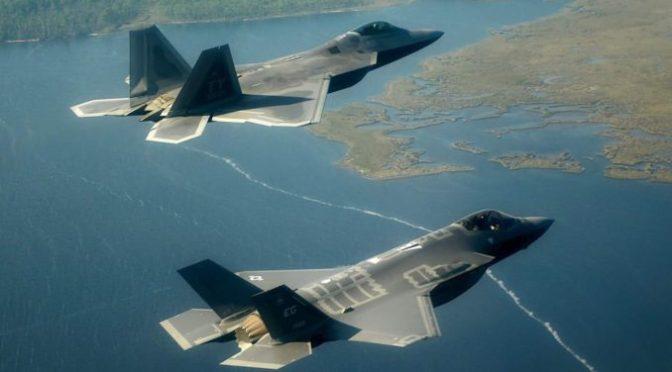 F-22 dan F-35 Gagal Penuhi Target Kemampuan Misi 80 Persen Militer Amerika Serikat