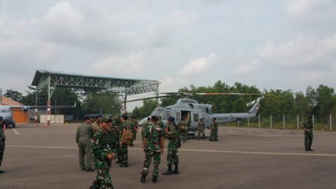 Helikopter Anti Kapal Selam Dan Gultor Dukung Latihan Lanudal Tanjungpinang