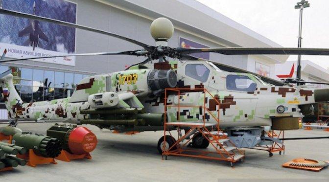 Asia Tenggara dan Timur Tengah Lirik Helikopter Mi-28NE