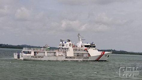 IDNCG Uji Coba Kapal Patroli Baru, KN Pulau Nipah - 321