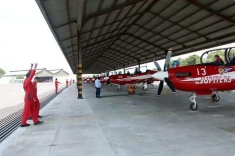 Jupiter Aerobatic Team Bertolak Tinggalkan Home Base-nya