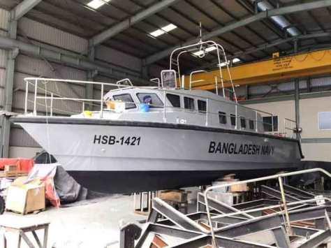 Kapal patroli cepat X-12 pesanan AL Bangladesh dan Penjaga Pantai Bangladesh