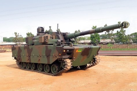 Medium tank Harimau Pindad (jumpic)