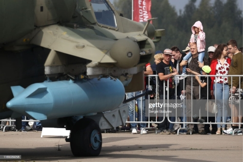 Mil Mi-28 attack helicopter at the MAKS 2019 (Getty Images).jpg