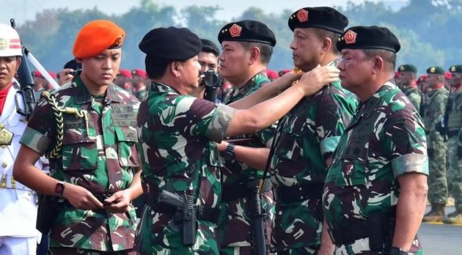 Panglima TNI Resmikan Kogabwilhan