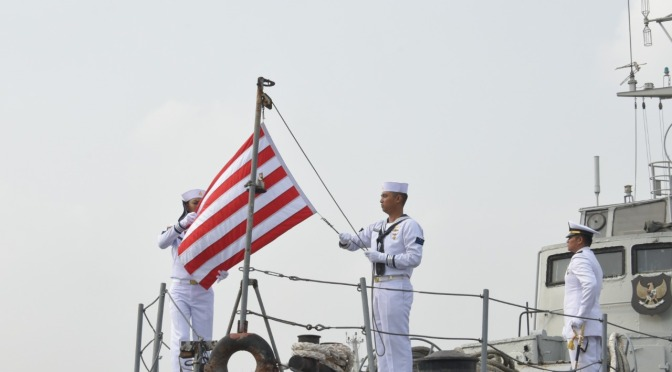 Penghapusan KRI Pulau Rote-721 TNI AL