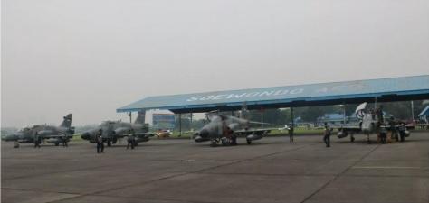 Skadron Udara 12 Laksanakan Latihan Maverick di Lanud Soewondo