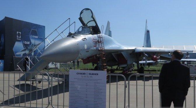Pengiriman Pesawat Tempur Su-35 Masih Terkendala Masalah Teknis