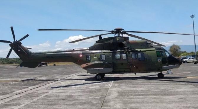 Super Puma TNI AU Turut Beri Dukungan di Gelaran Elang Ausindo 2019