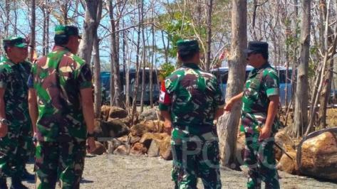 TNI Turunkan Sepertiga Alutsista di Latihan Gabungan Tiga Matra