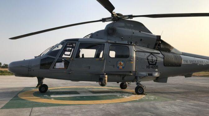 TrakkaCam TC-300 Untuk Helikopter AS565 MBe Panther Angkatan Laut Indonesia