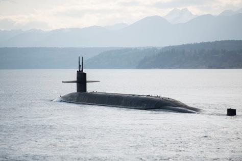 USS Nebraska Returns From DASO