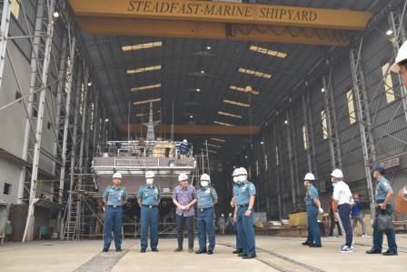 Waasops Kasal Kunjungi PT Steadfast Marine