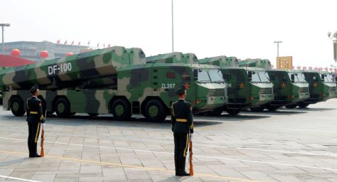 China Showcases New DF-100 Hypersonic Cruise Missile at National Day Military Parade (Reuters)