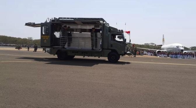 Ditbekangad Tampilkan Prototype Dapur Mobile di HUT TNI ke-74
