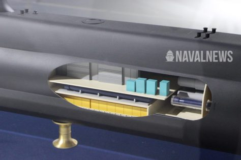 DSME2000 submarine design features a flexible weapon launching system