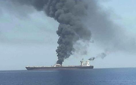 Dua rudal menyasar kapal tanker Iran bernama Sabity pada Jumat, 11 Oktober 2019. Irib News